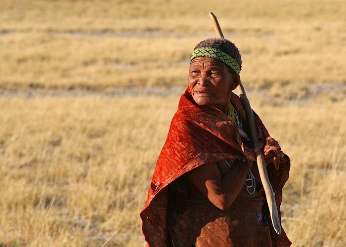 San elder, Makgadikgadi Pans