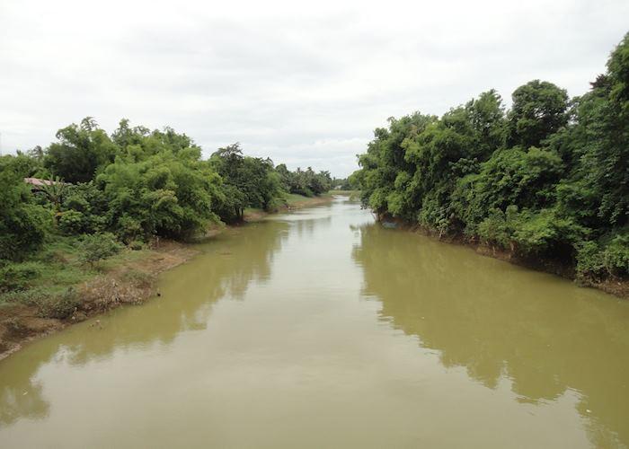 Battambang River scene
