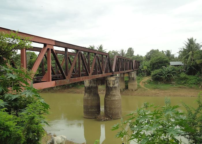 Old Battambang Railway Bridge, Battambang
