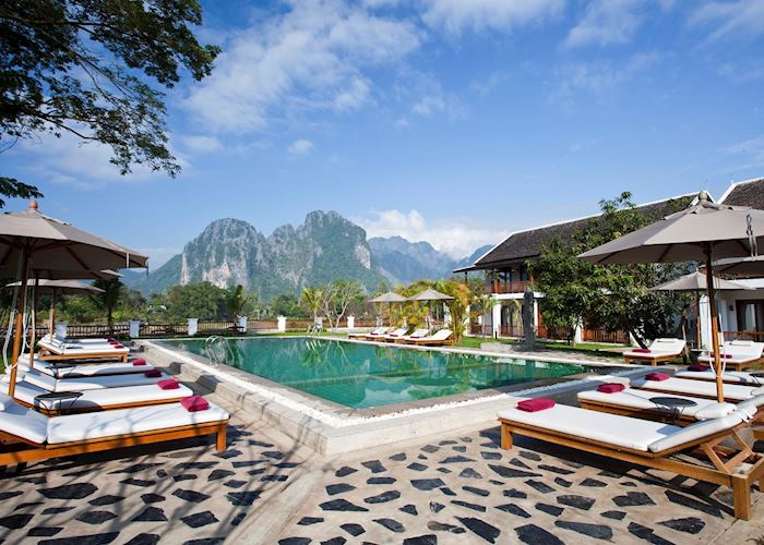 Riverside Boutique Resort,Vang Vieng