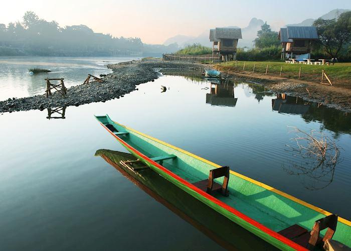 Early morning Vang Vieng, Laos