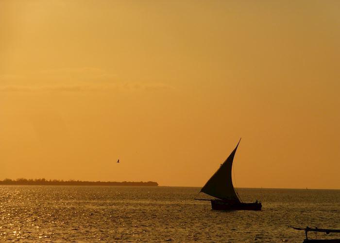 Stone Town sunset, Zanzibar Island