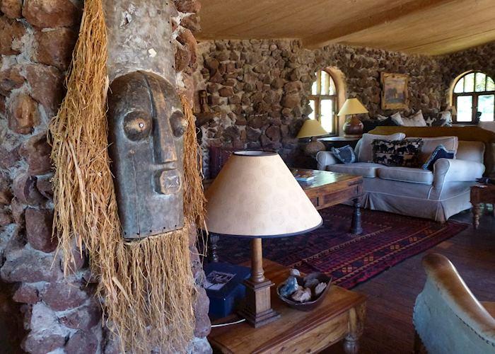 Lewa Wilderness sitting room