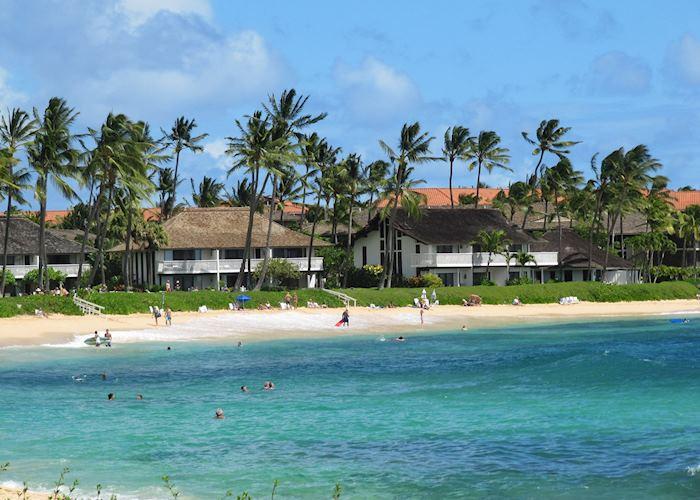 Poipu Beach, Kiahun Plantation, Kauai