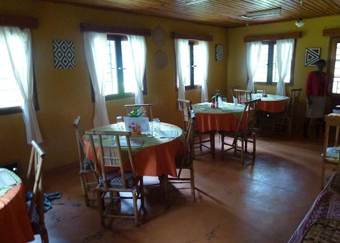 Restaurant at Gisakura Guest House,Nyungwe Forest National Park