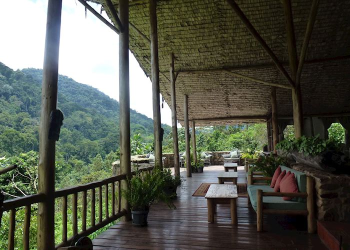 Lounge, Engagi Lodge, Bwindi Impenetrable Forest National Park