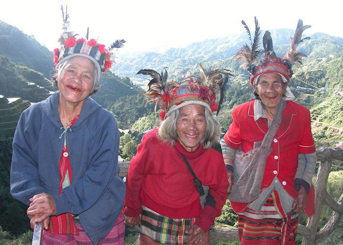 Ifugao tribal women, Banaue, Philippines