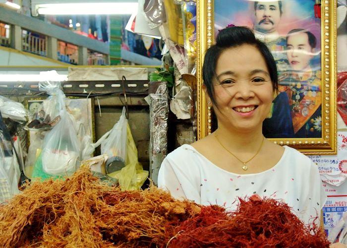 Lady at Chiang Mai Market, Thailand