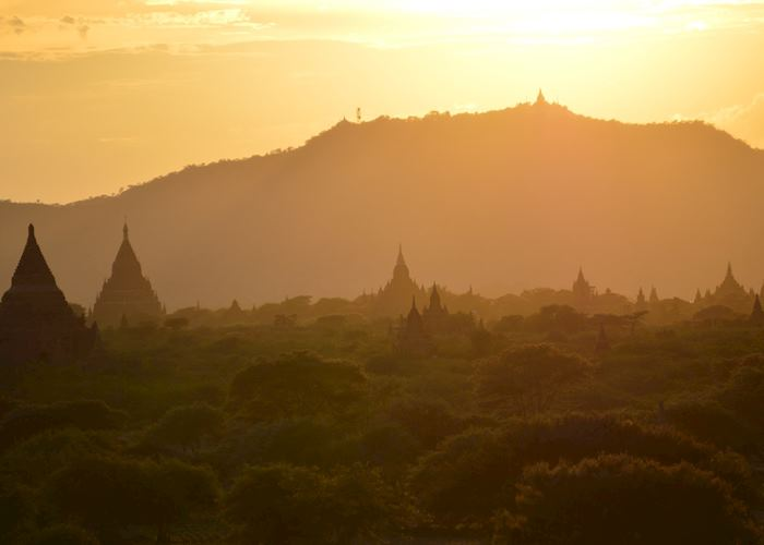 Sunset over Bagan, Burma (Myanmar)