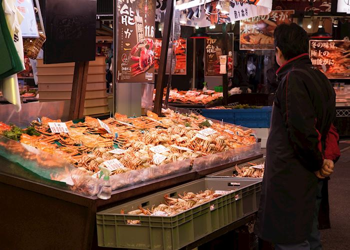 Local Specialty of Kanazawa, Omicho Market