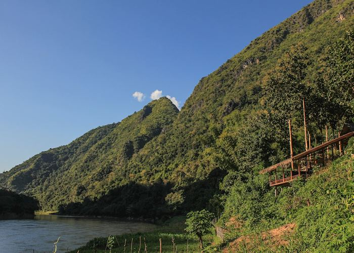 View from Mandala Ou,Nong Khiaw
