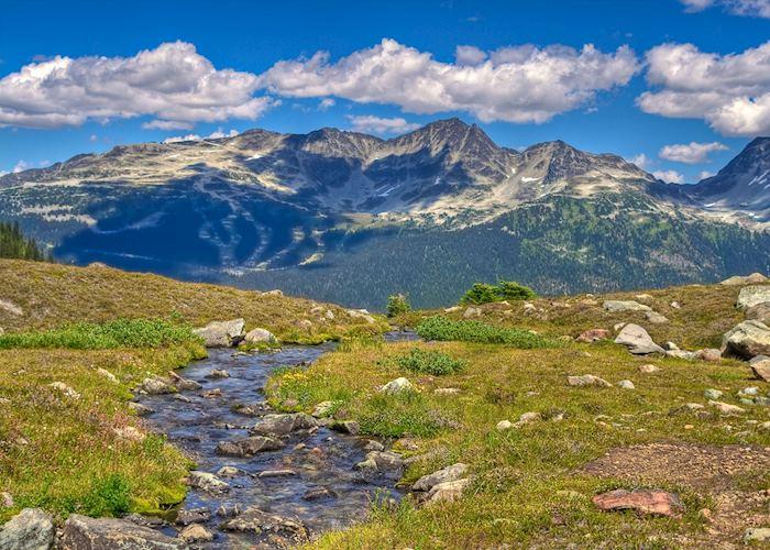 Mountain scenery near Whistler