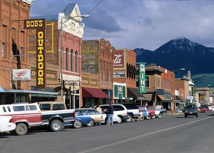 Livingstone near Bozeman, Montana