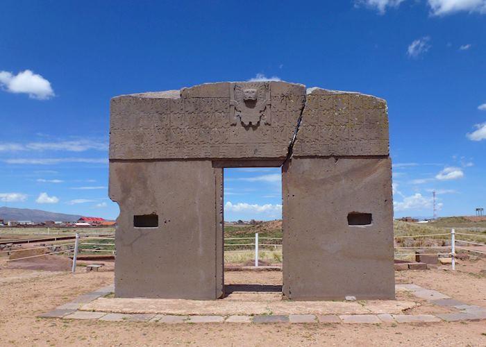 Sun Gate, Tiahuanaco Ruins, Bolivia