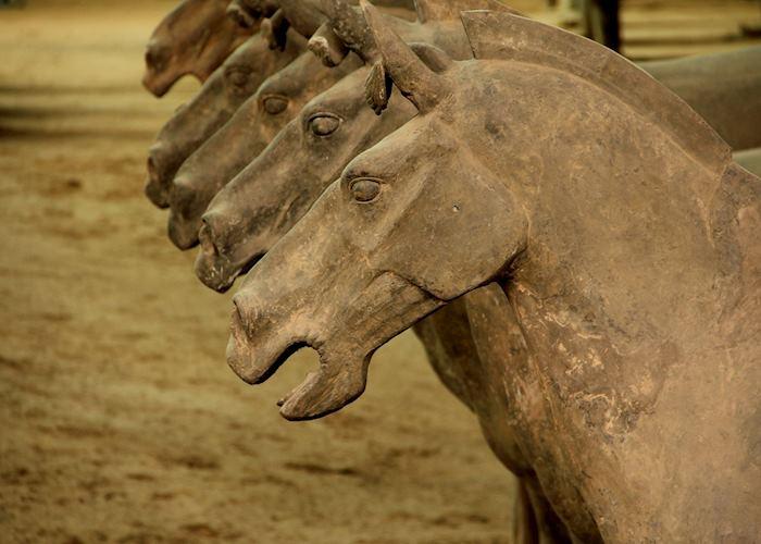 Terracotta horses, Xian