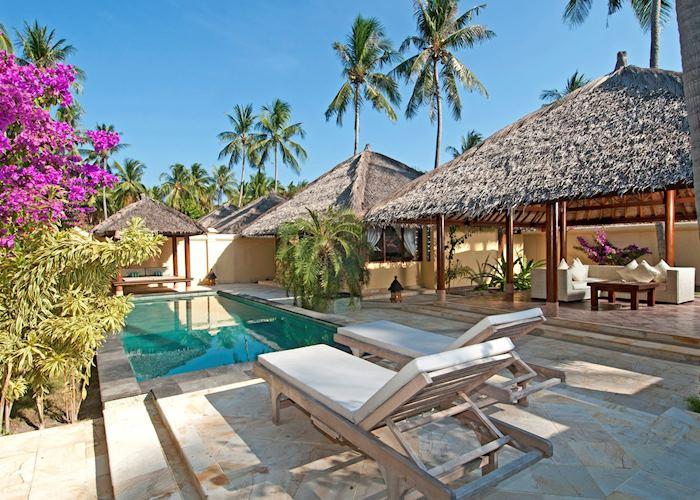 Pool Villa, Kura Kura Resort, Pulau Menyawakan