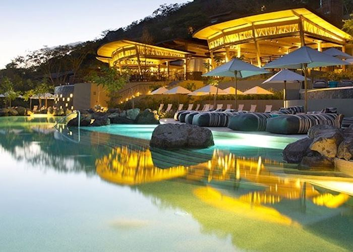 The swimming pool, Andaz Peninsula Papagayo, Costa Rica