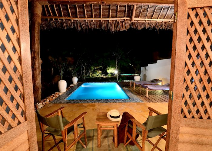 Seaview suite, Pongwe Beach Hotel, Zanzibar Island