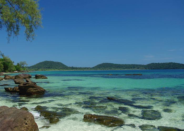 Koh Rong Island near Sihanoukville, Cambodia