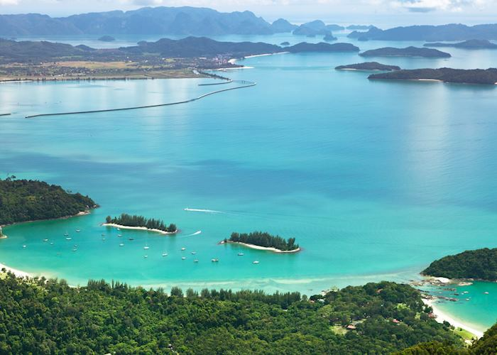 Turquoise waters of Langkawi, Malaysia