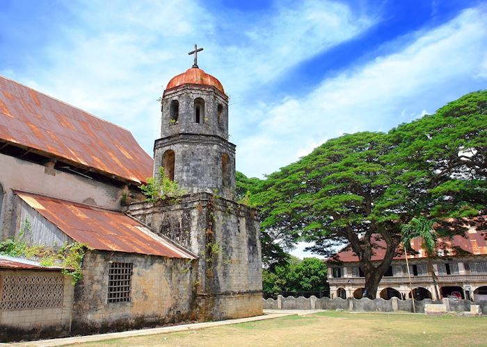 Church and convent, Siquijor