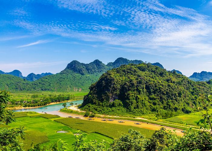 Scenery around Phong Nha-Ke Bang National Park, Vietnam