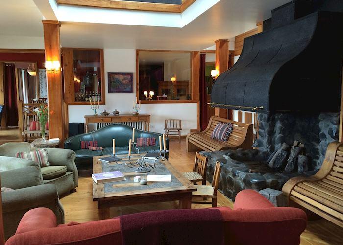 Living Room, Hosteria Las Balsas, Villa La Angostura