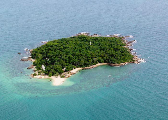 Aerial view of Koh Munnork