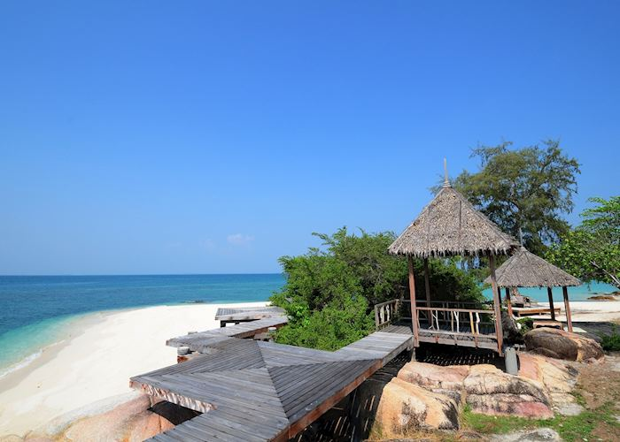 Beach at Koh Munnork