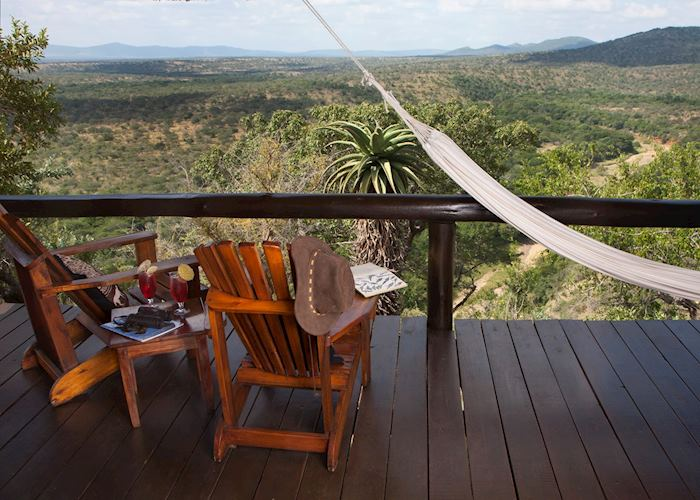 Chalet View, Leopard Mountain Lodge, Zululand Rhino Reserve