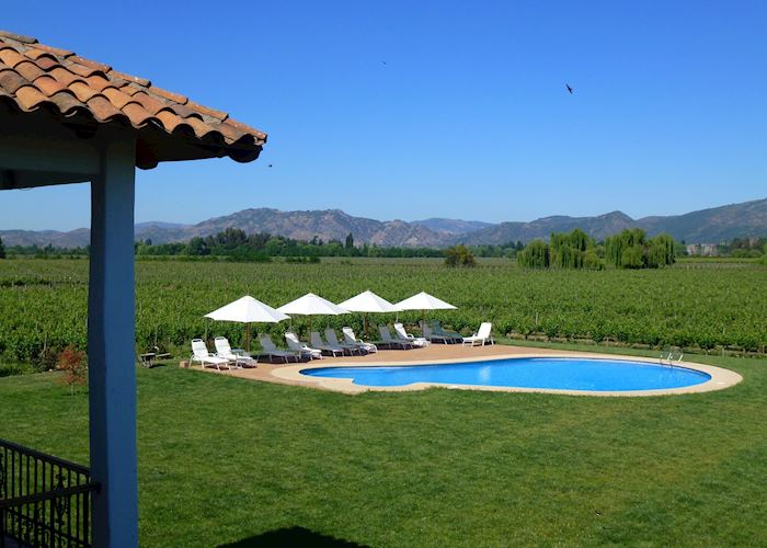 Swimming Pool at Hotel TerraViña, Colchagua Valley