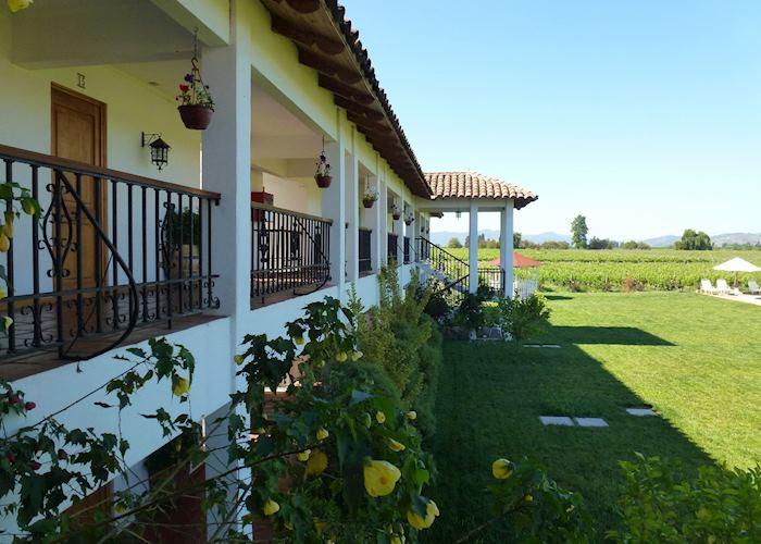 Exterior of Hotel TerraViña,Colchagua Valley