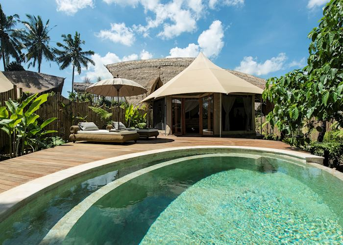 Private Pool, Sandat Glamping Tents,Ubud