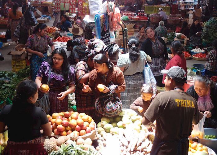 Solola market, Lake Atitlan