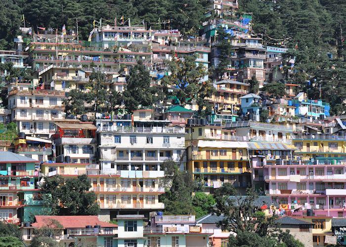 Houses in McLeod Ganj, near Dharamshala