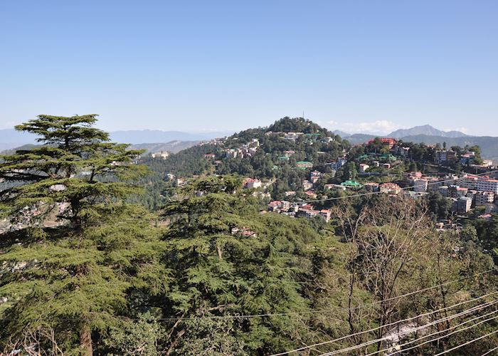 View from the Toy Train to Shimla