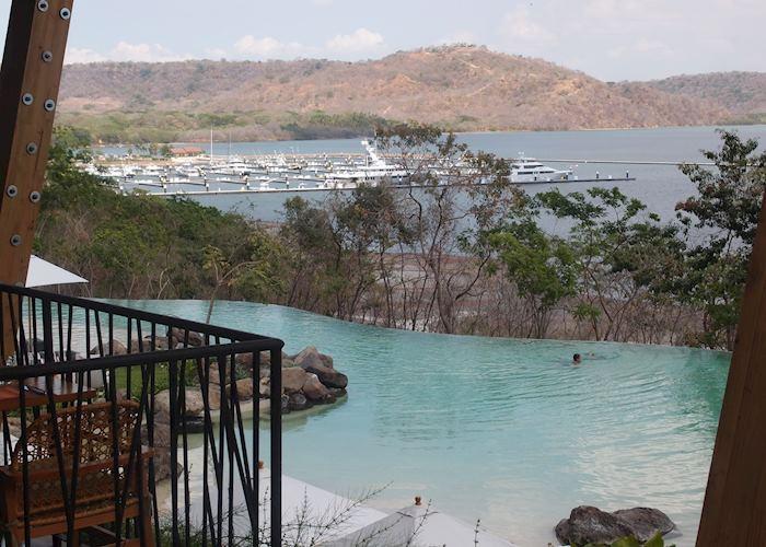 One of the pools at Andaz Peninsula Papagayo, Golfo de Papagayo