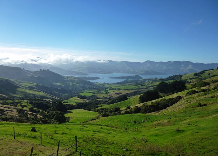 Akaroa & Banks Peninsula,New Zealand