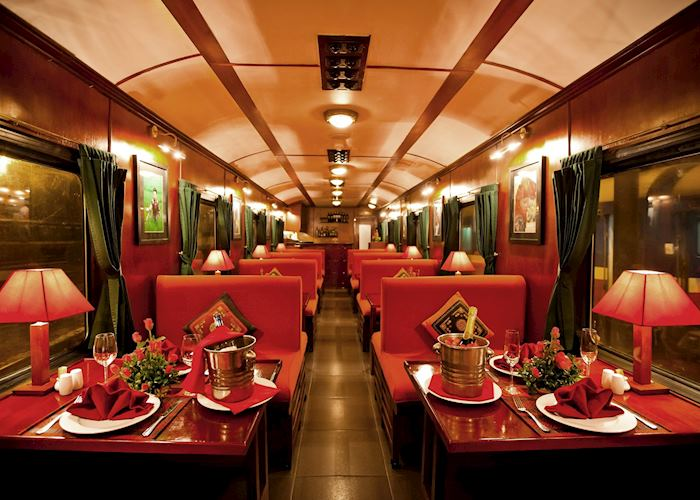 Le Tonkin Restaurant onboard the Victoria Express Train