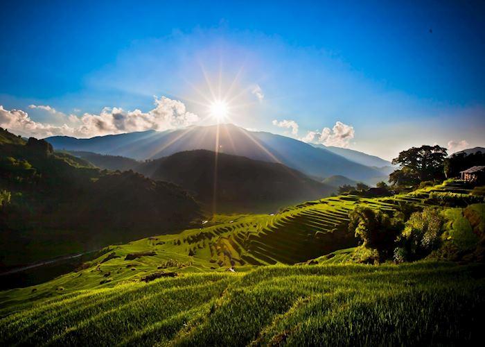Stunning mountain views, Sapa