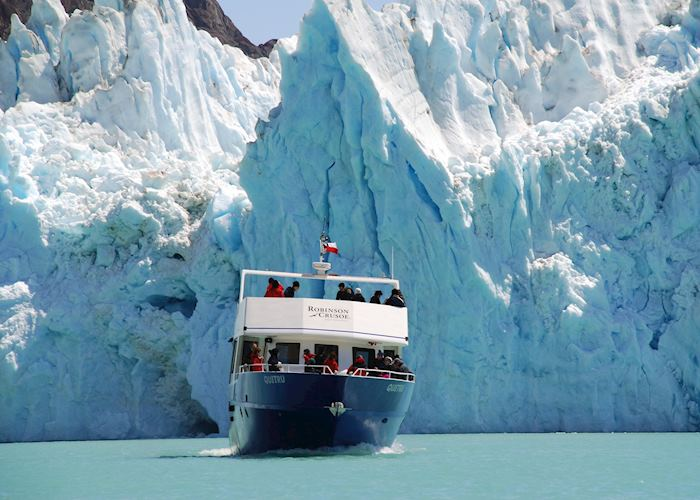 Cruising to the Great Glacier, Villa O Higgins