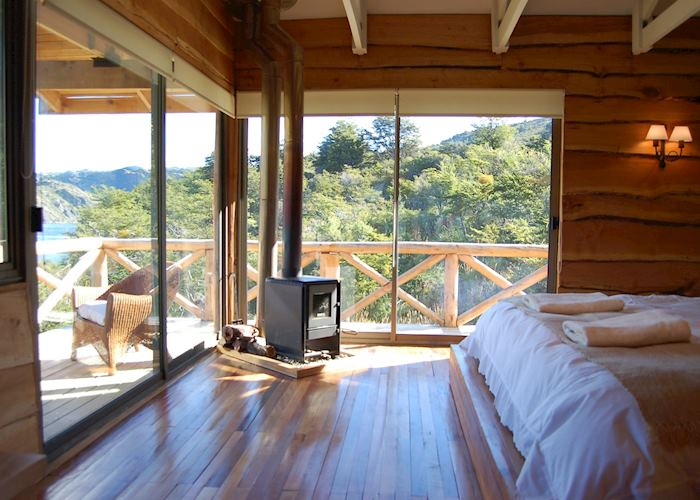 Deluxe room, Hacienda Tres Lagos, Lago General Carrera