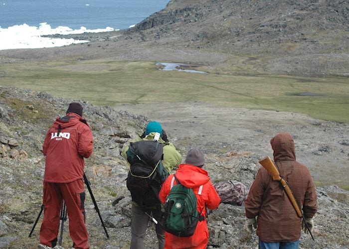 Wildlife spotting on Diana Island