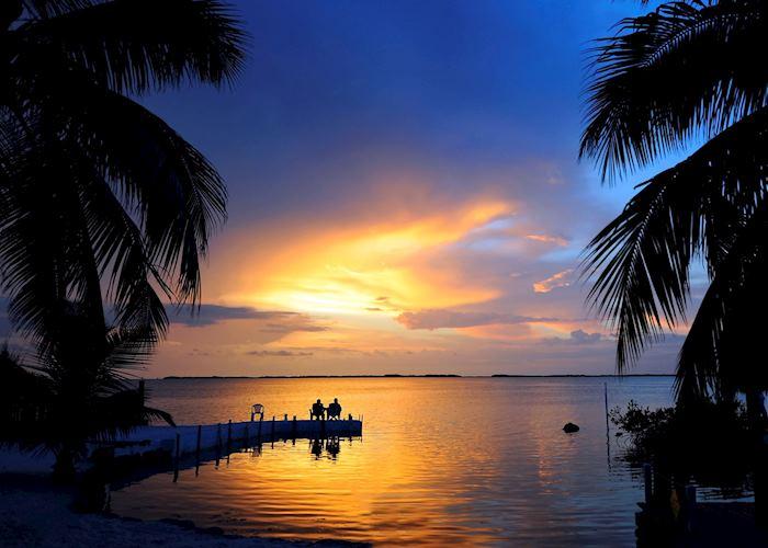 Sunset near Key West