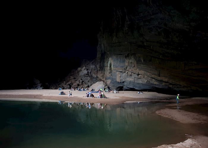Camping at Phong Nha-Ke Bang National Park,Vietnam