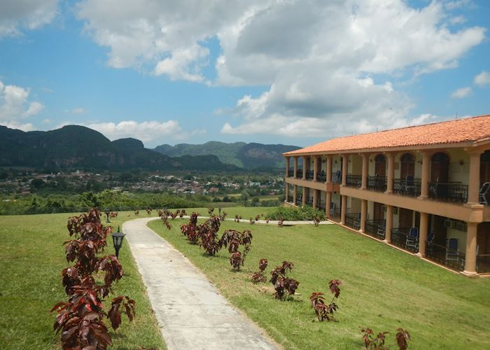 La Ermita and the surrounding countryside