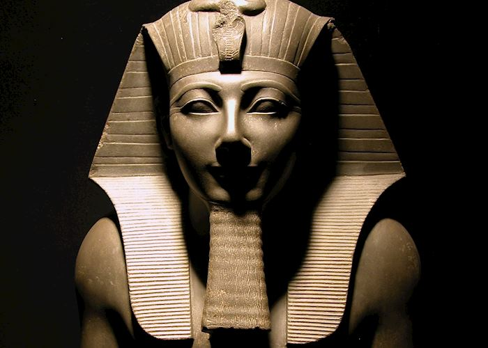 Statue at Luxor Museum, Egypt