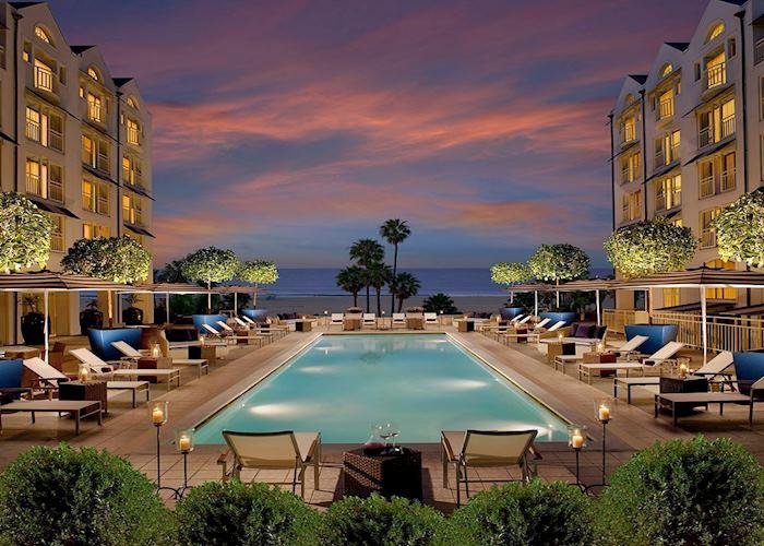 Pool, Loews Hotel Santa Monica, Los Angeles