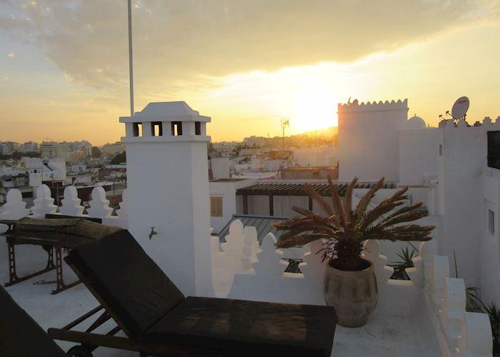 Roof Terrace,La Tangerina,Tangiers