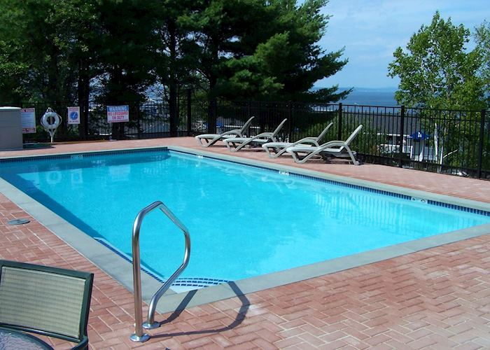 Swimming Pool at The Bayview, Bar Harbor